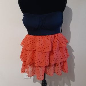 NWT MARY JANE USA XL strapless top